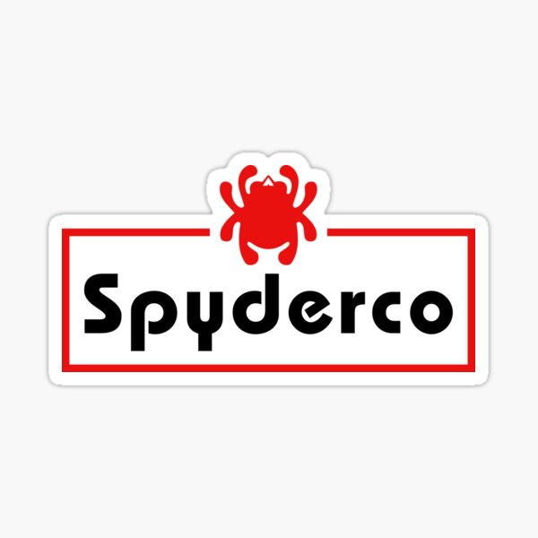 Spyderco Knives logo Knife Sticker