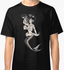 Sailors Ruin, Vintage mermaid tattoo style Classic T-Shirt