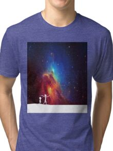 Rick and Morty - Star Viewing 2 Tri-blend T-Shirt