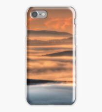 Misty Sunrise, Kissing Point Lookout, Hill End  iPhone Case/Skin