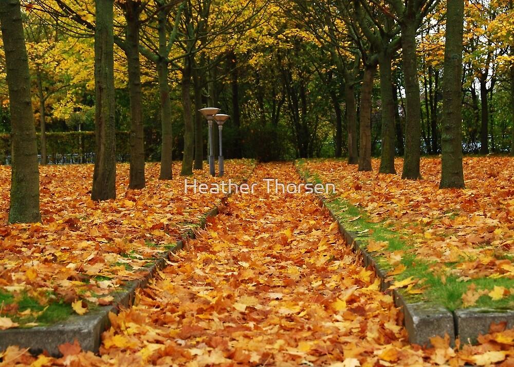 Autumn carpet by Heather Thorsen