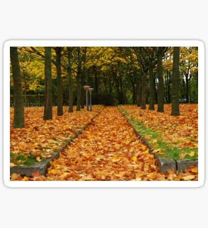 Autumn carpet Sticker