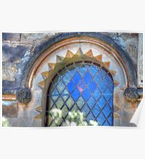 Church Window Poster