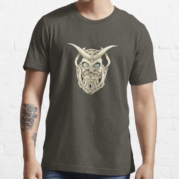 Horned Skull (color) Essential T-Shirt