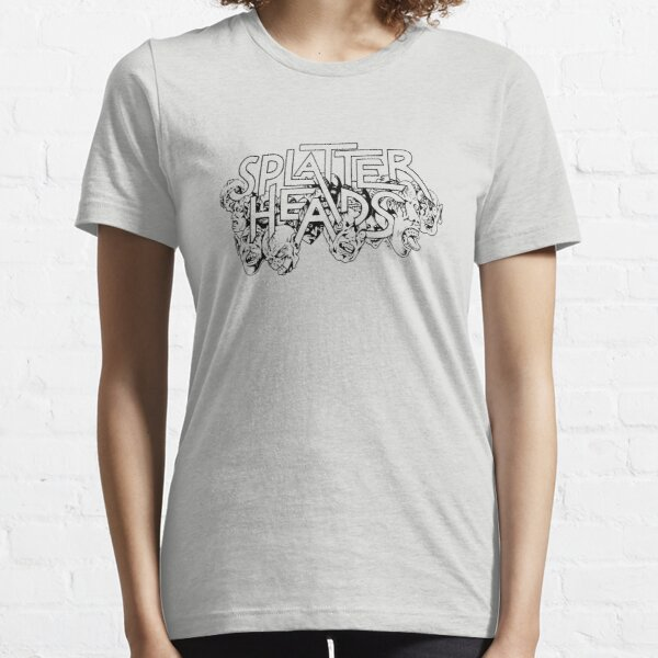 Splatterheads (black) Essential T-Shirt