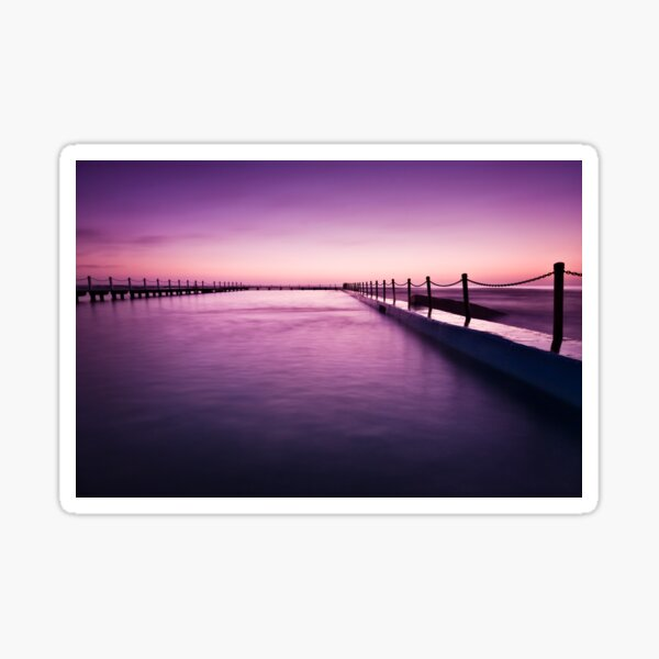 Narrabeen Sunrise II Sticker