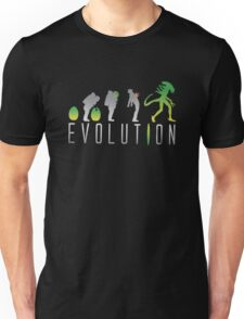 Evolution Aliens Unisex T-Shirt