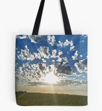 Cloudset Portrait Tote Bag