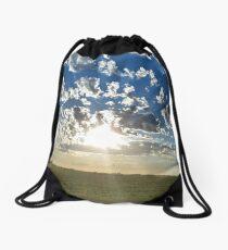 Cloudset Portrait Drawstring Bag