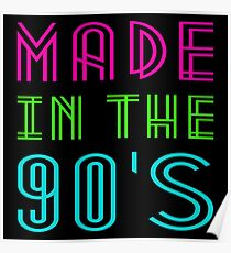 MADE IN THE 90'S Poster