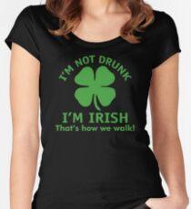 Irish Walk Women's Fitted Scoop T-Shirt