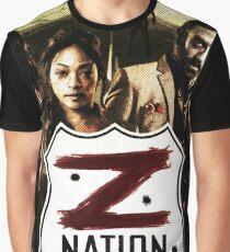 Z nation - cast Graphic T-Shirt