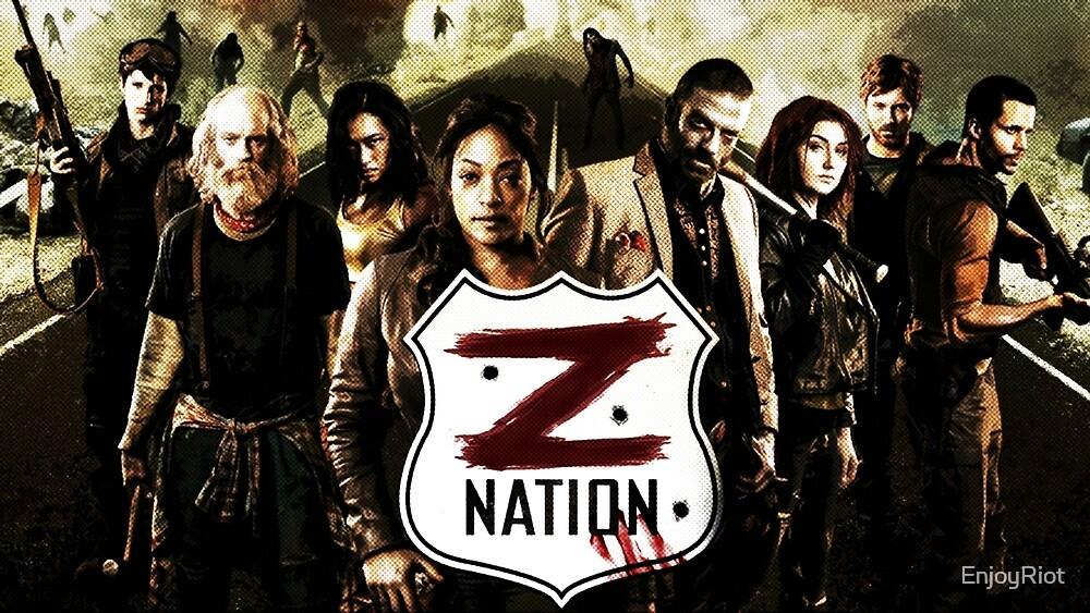 Z nation - cast by EnjoyRiot