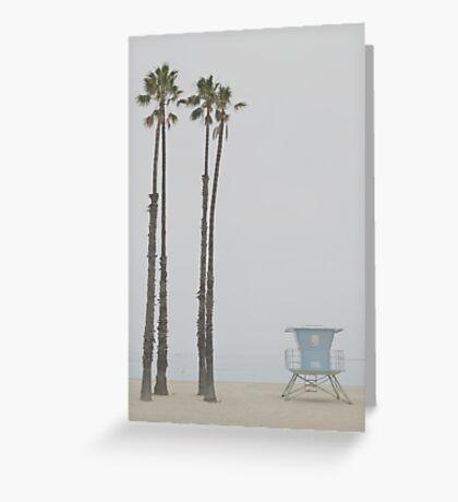 Motionless Coast Greeting Card
