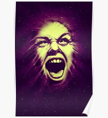 Cosmic scream banshee teenwolf Poster
