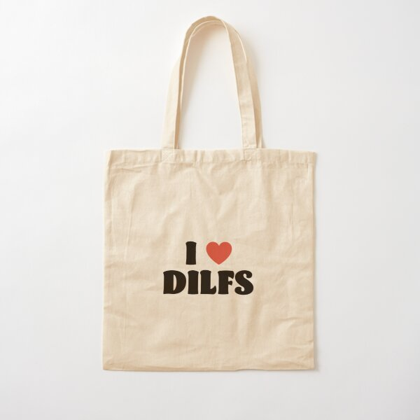I Love Dilfs Cotton Tote Bag