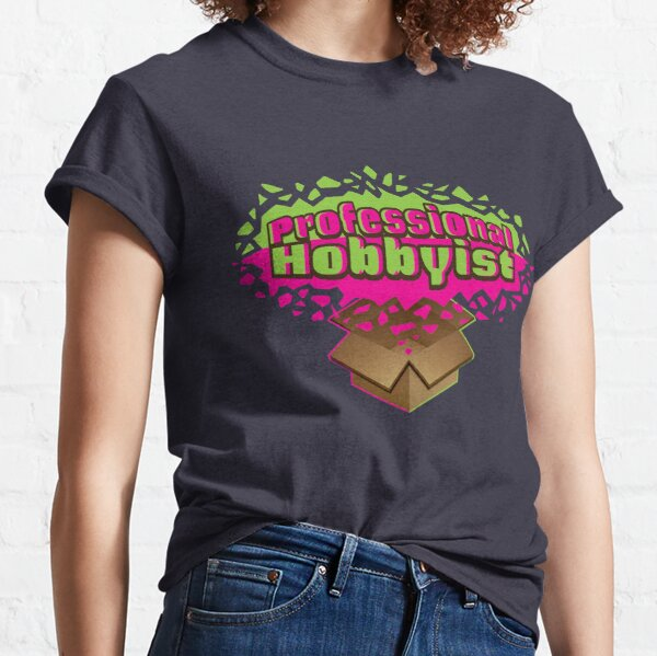 Professional Hobbyist - Outlined Classic T-Shirt