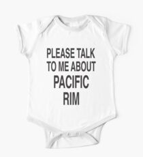 Please talk to me about Pacific Rim One Piece - Short Sleeve
