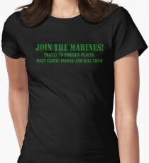 Join Marines Women's Fitted T-Shirt