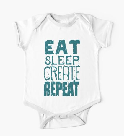 EAT SLEEP CREATE REPEAT Kids Clothes