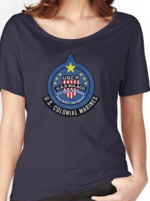 United States Colonial Marine Corps - Aliens Women's Relaxed Fit T-Shirt