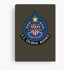 United States Colonial Marine Corps - Aliens Canvas Print