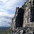 Limestone Stack Pen Y Ghent by mikebov