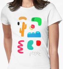 Toes in the desert Women's Fitted T-Shirt