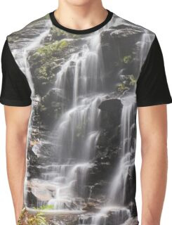 Sylvia Falls, Blue Mountains Graphic T-Shirt