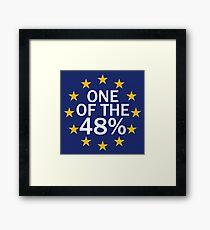 One of the 48% Framed Print