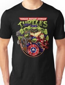 Avenger Marvel Turtles T-shirt for Adults