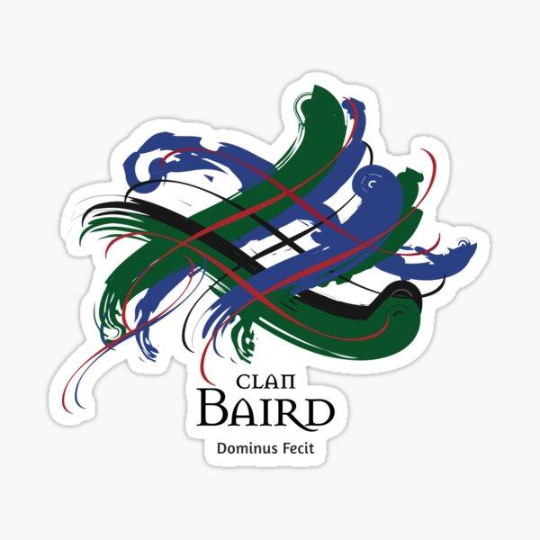Clan Baird  Sticker