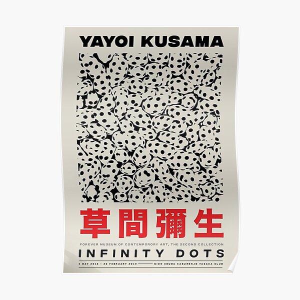 Meilleur Yayoi Kusama Infinty Dots Poster