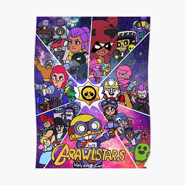 brawlstars all character Poster