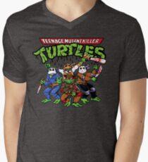 Killer Turtles Men's V-Neck T-Shirt