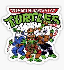 Killer Turtles Sticker