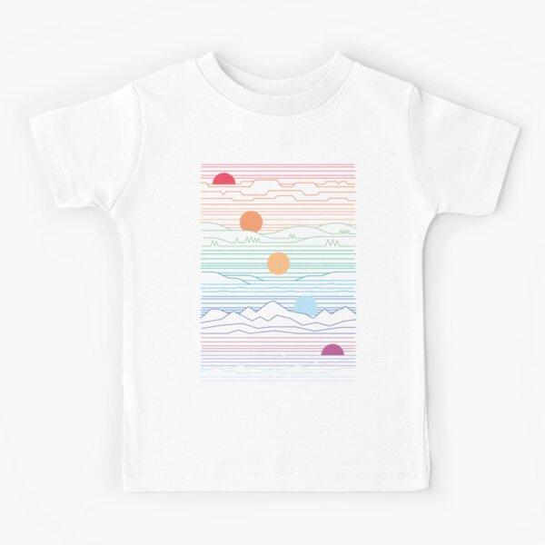 Wir teilen eine Sonne Kinder T-Shirt