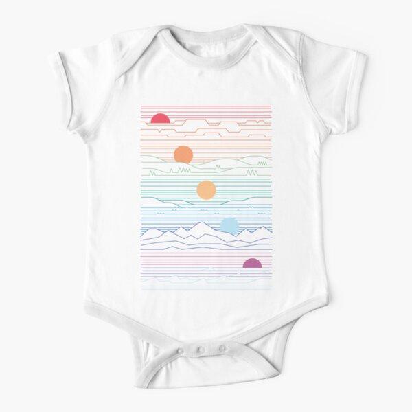 compartimos un sol Body de manga corta para bebé