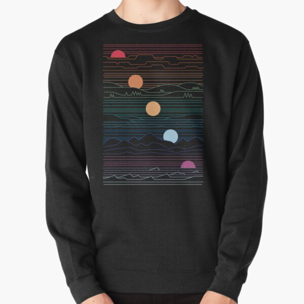 Many Lands Under One Sun Pullover Sweatshirt