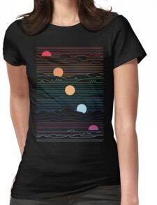 Many Lands Under One Sun Womens Fitted T-Shirt