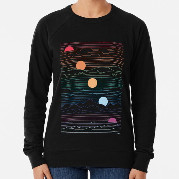 Many Lands Under One Sun Lightweight Sweatshirt