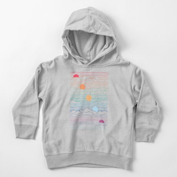 Many Lands Under One Sun Toddler Pullover Hoodie
