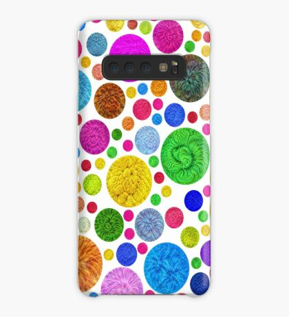#DeepDream Color Circles Visual Areas 4x4K v1448872458 Case/Skin for Samsung Galaxy