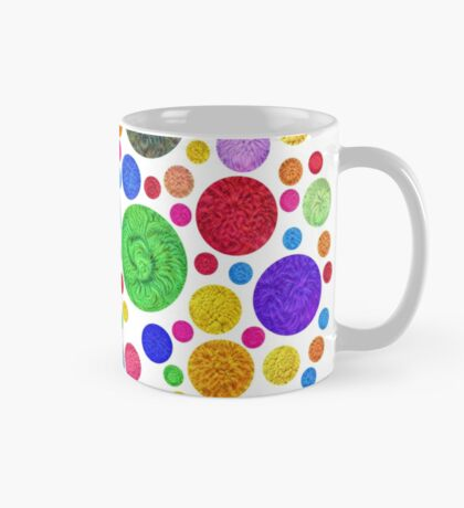 #DeepDream Color Circles Visual Areas 4x4K v1448872458 Mug