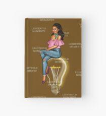 LightBulb Moments Chocolate Hardcover Journal