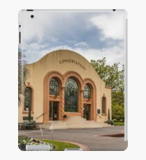 The Conservatory at the Fitzroy Gardens iPad Case/Skin