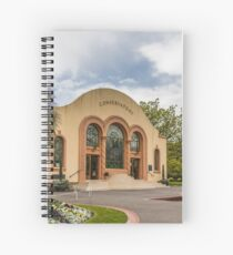 The Conservatory at the Fitzroy Gardens Spiral Notebook
