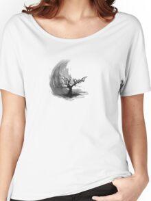 Sumi e sakura tree Women's Relaxed Fit T-Shirt