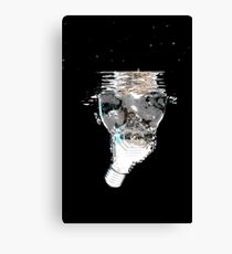 Electric Water Canvas Print