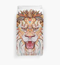 Head Of The Roaring Lion  Duvet Cover